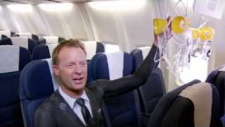 Body painted Air NZ staff star in our new Bare Essentials of Safety video, created for our Domestic 737 services Check out the...