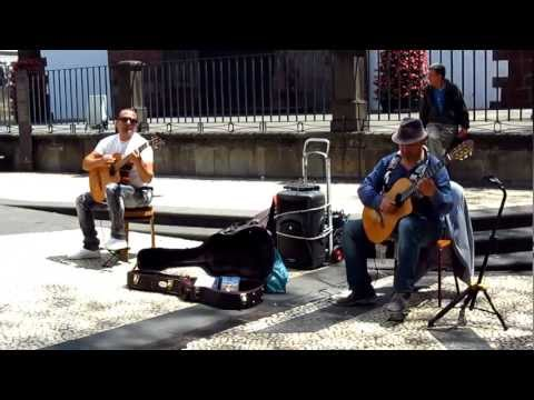 Street Music In Funchal (Madeira), Great Guitar Player HQ720