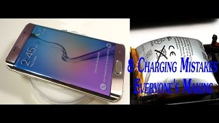 Click Here to subscribe http://bit.ly/1nLP4Gf to become a bro 8. CHARGING MISTAKES KILLING YOUR Battery Some of our seemingly harmless habits are doing slow,...