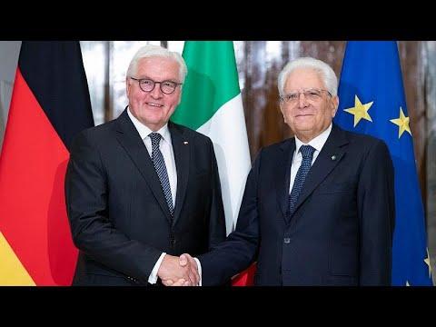 Επίσκεψη Σταϊνμάιερ στη Ρώμη: Επαναπροσέγγιση Ιταλίας-Γερμανίας…