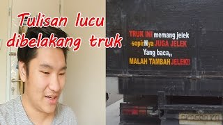 Video baca tulisan-tulisan lucu di belakang truk MP3, 3GP, MP4, WEBM, AVI, FLV September 2018
