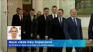 Nová vláda Ewy Kopaczové