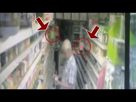 GHOST VIDEOS Teabags floating at shop | Scary videos of ghost caught on tape | Scary ghost videos