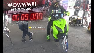 Video Aksi NISA UCIL Di Kelas Breket 9 Detik Bikin Malu Joki Cowo | GDS ON THROTTLE DRAG BIKE  2017 MP3, 3GP, MP4, WEBM, AVI, FLV Agustus 2017