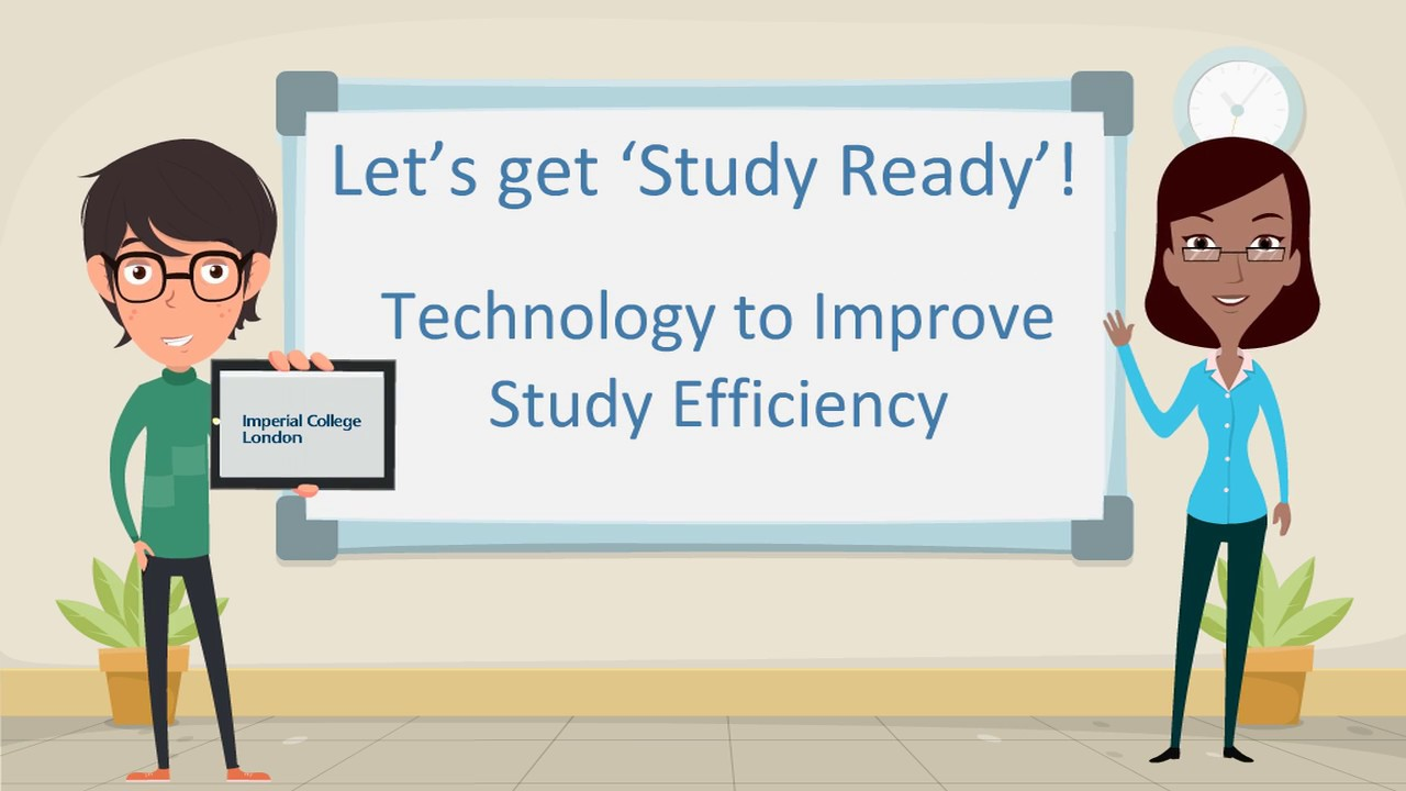 Technology to improve study efficiency
