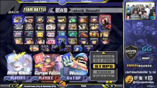 AZ's forbidden character select screen tech; the metagame isn't ready