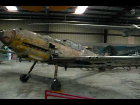 El Bf109 encontrado en un lago ruso