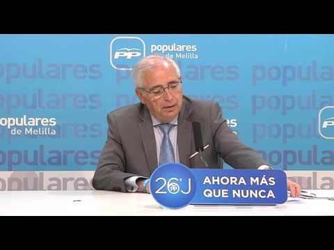 La Ciudad Autónoma actuará en el parque del Monte María Cristina