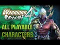Warriors Orochi 4 All Playable Characters orochi3