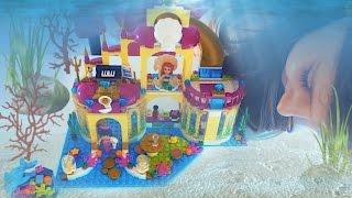 Русалки в замке с сокровищами конструктор Лего