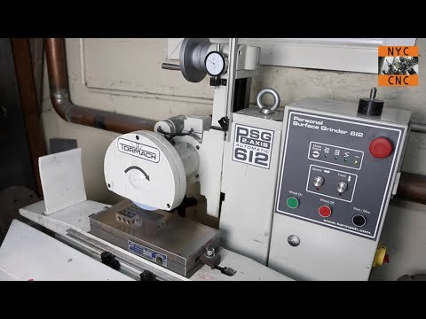 Tormach Surface Grinder - Grinding 4140 Perfectly Flat & Parallel & Grinding Fun with Dykem
