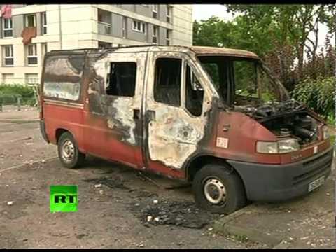 Во Французском городе Амьен вспыхнули беспорядки