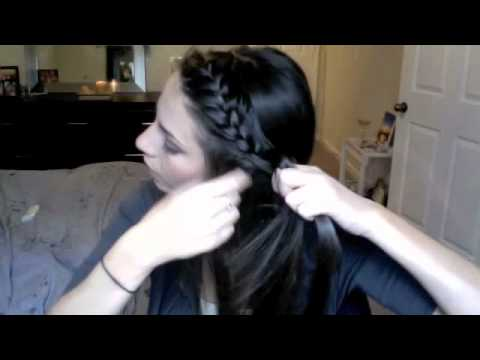 french braid - Latest Braid Tutorial! http://www.youtube.com/watch?v=PMQP8bDFSpQ :-) ***Business Inquiries Only Email: claire@ultimakeover.com ♡Follow me on INSTAGRAM: Ulti...