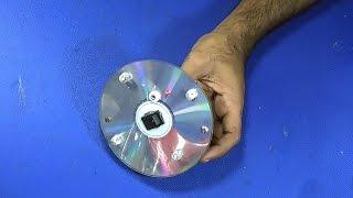 Video How To Make A Super Bright LED Light On A DVD/ CD Disk MP3, 3GP, MP4, WEBM, AVI, FLV Juli 2019