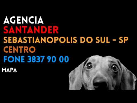 ✔ Agência SANTANDER em SEBASTIANOPOLIS DO SUL/SP CENTRO - Contato e endereço