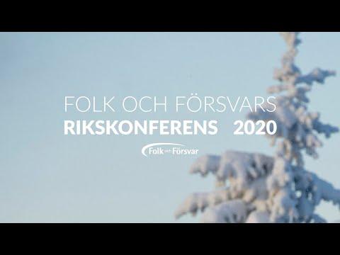 Rikskonferensen 2020 måndag 12:30