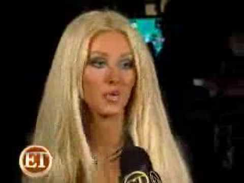 Christina Aguilera Interview On The Set Of Tell Me Video