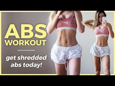 탄력있는 복부을 만들기 위한 15분 운동
