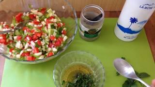 Ein leckerer traditioneller, tunesischer Salat. Das Rezept findet ihr auch auf meinem Blog. Direktlink:...