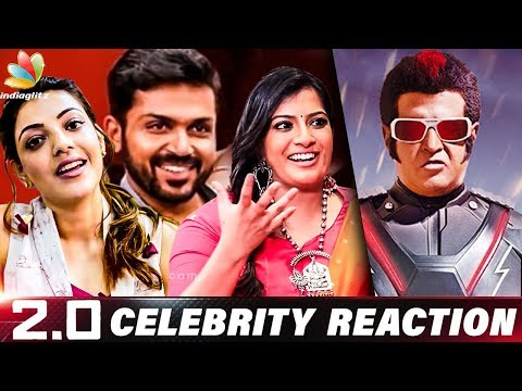 Out of the World Film : Celebrity Reaction & Review for 2.0 | Varalakshmi, Karthi & Kajal Agarwal_Celebek. Heti legjobbak