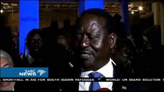 Kenya's opposition leader candidate Raila Odinga on Monday took part in a television presidential debate alone last night. This after President Uhuru Kenyatta ...