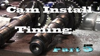 5. 07 Ninja 250 Project pt.5 Cam Install Setting Time