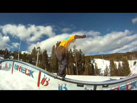 Training for the 2014 Olympics: Snowboard Slopestyle (Silas Hatch)