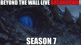 This is our Game of Thrones Season 7 Episode 6 Beyond the Wall LIVE BREAKDOWN! I will be joined by Secrets of the Citadel and George Sartiano to discuss ...