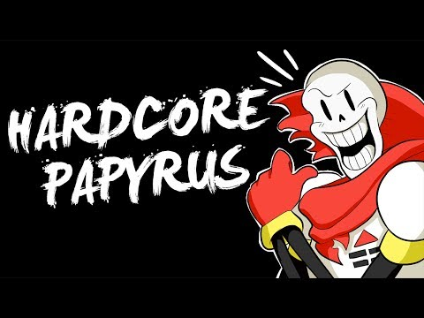 EVEN HARDER THAN SANS ! | Hardcore Papyrus Genocide (Fan-game) (видео)