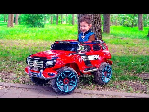 Police Tema Ride on Police cars Pretend Play with toys