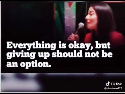Thank you quotes - Muniba Mazari Inspirational Lines  Its Ok To Be scared  Quotes status Video...
