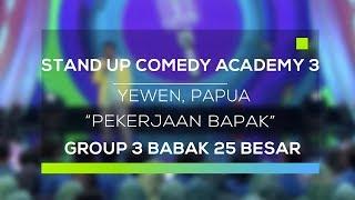 Video Stand Up Comedy Academy 3 : Yewen, Papua - Pekerjaan Bapak MP3, 3GP, MP4, WEBM, AVI, FLV September 2017