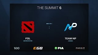 FDL vs Team NP, Game 2, The Summit 6 Qualifiers, America