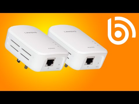Linksys PLEK500 HomePlug Unboxing