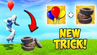 *NEW TRICK* GET HIGH GROUND FAST! - Fortnite Funny Fails and WTF Moments! #412