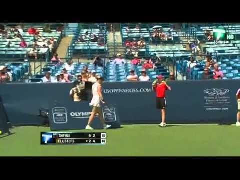 Kim Clijsters ante Dinara Safina en Cincinnati 2009