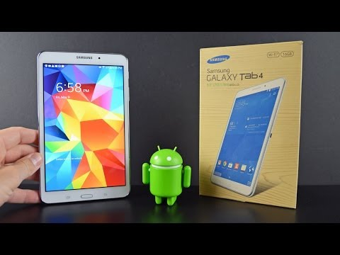 Samsung Galaxy Tab 4 8.0: Unboxing & Review - YouTube