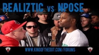 King of the Dot | Realiztic vs. N Pose