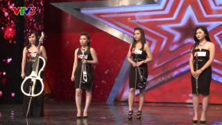 Vietnam's Got Talent 2014: Nhóm Toxic Hòa Tầu - Tập 3 - Ngày 12/10/2014