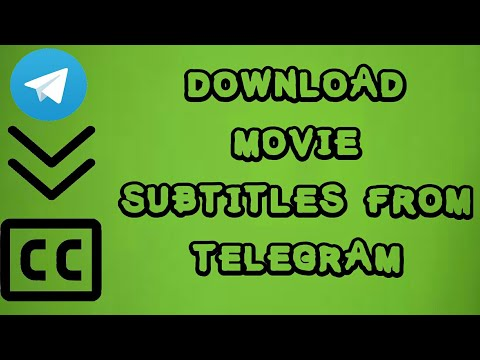 How to Download Movie Subtitles from Telegram