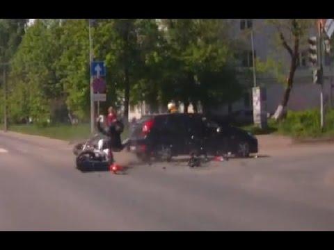 МОТО аварии Май 2015
