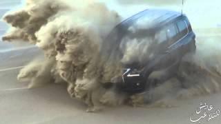 تطير و دعم لكزس Lexus LX570 Sand Dunes Climbing