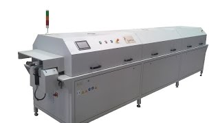 CF HIR SERIES are IN-LINE automatic IR curing ovens. All our ovens are equipped with specially designed IR panels to work with specifics wavelength for organ...