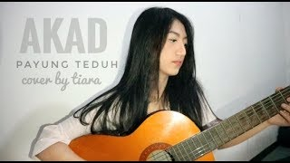 Akad - Payung Teduh (cover by Tiara)