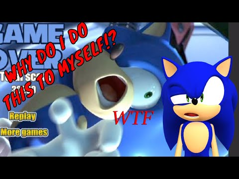 WHY DO I DO THIS TO MYSELF?? | Online Sonic Games