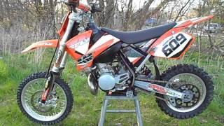 1. 2008 KTM 65 SX
