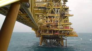 Kertih Malaysia  City pictures : Azan on Angsi A Oil Platform (Offshore Kerteh, Terengganu, Malaysia)