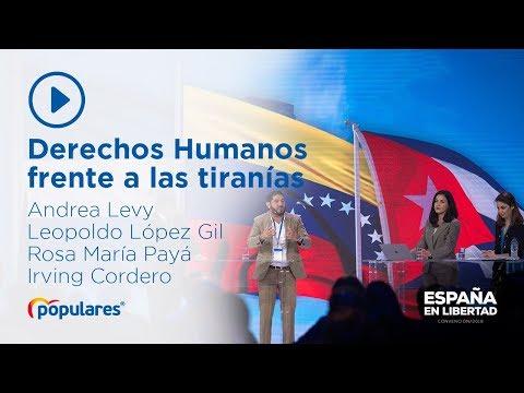 Reivindicamos el respeto a los Derechos Humanos frente a las tiranías
