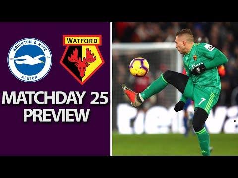 Video: Brighton v. Watford | PREMIER LEAGUE MATCH PREVIEW | 2/2/19 | NBC Sports