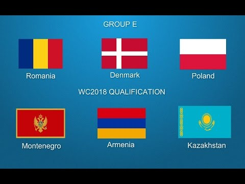 FIFA World Cup 2018 Qualifiers Group E European Zone PROMO [HD]